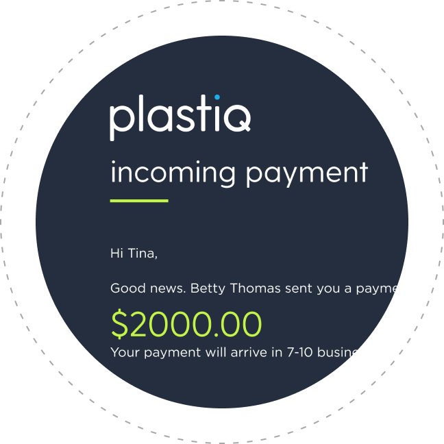 Get paid with Plastiq step 3