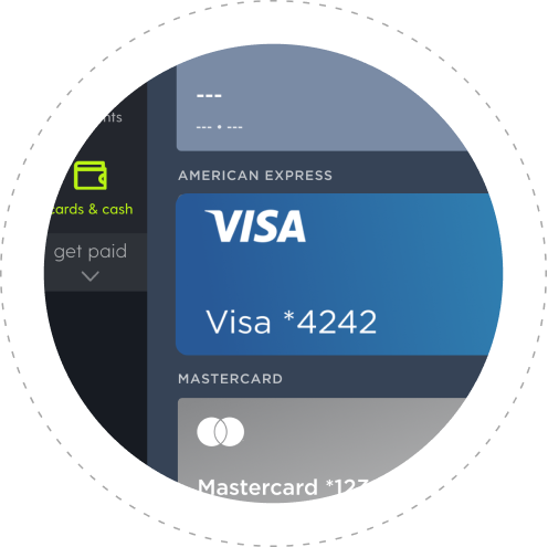 Pay on Plastiq with a Visa