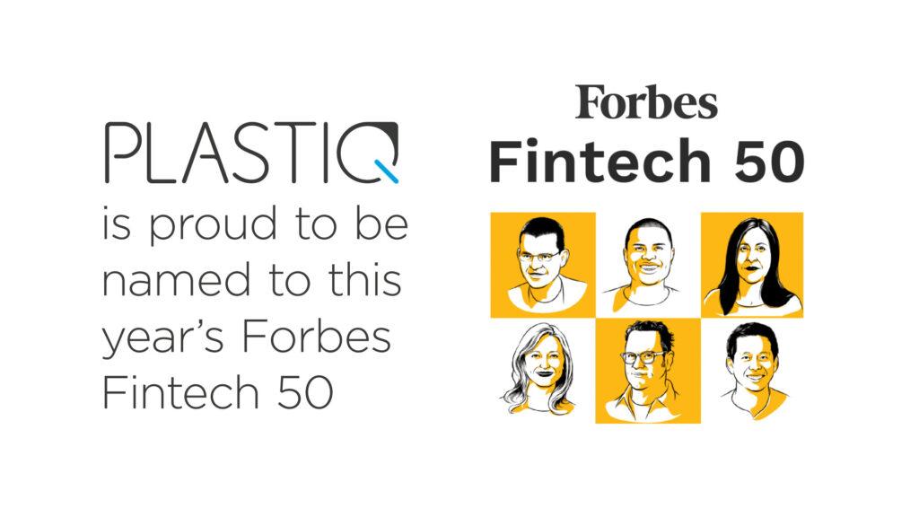 Plastiq Named Among Most Innovative Fintech Companies in Forbes' 2020 Fintech 50